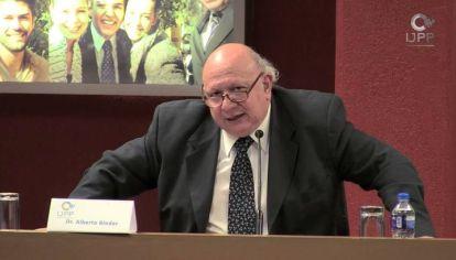 ALBERTO BINDER. El presidente del Inecip propone cinco acuerdos mínimos entre gobierno y oposición.