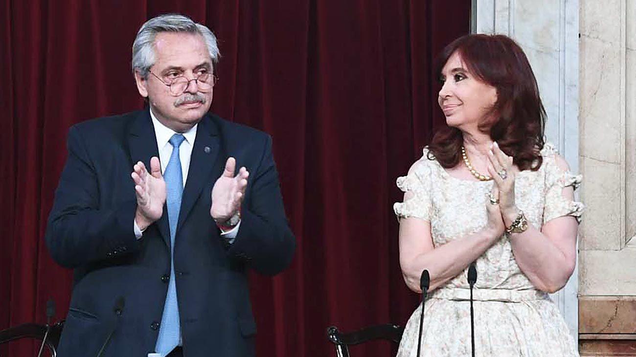 Asamblea. El Presidente volvió a plantear cambios judiciales profundos y a criticar duramente la gestión de Macri y a la oposición.