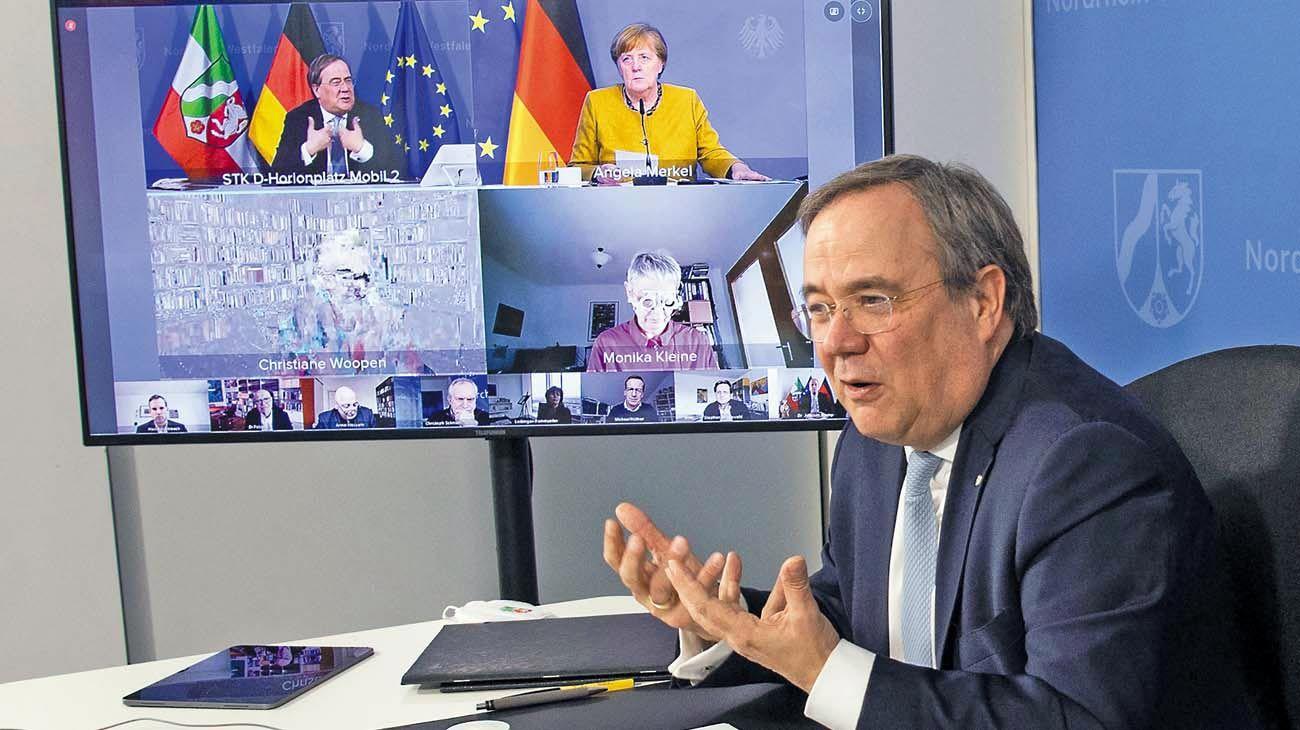 Heredero. Armin Laschet es el gobernador del estado más grande de Alemania.