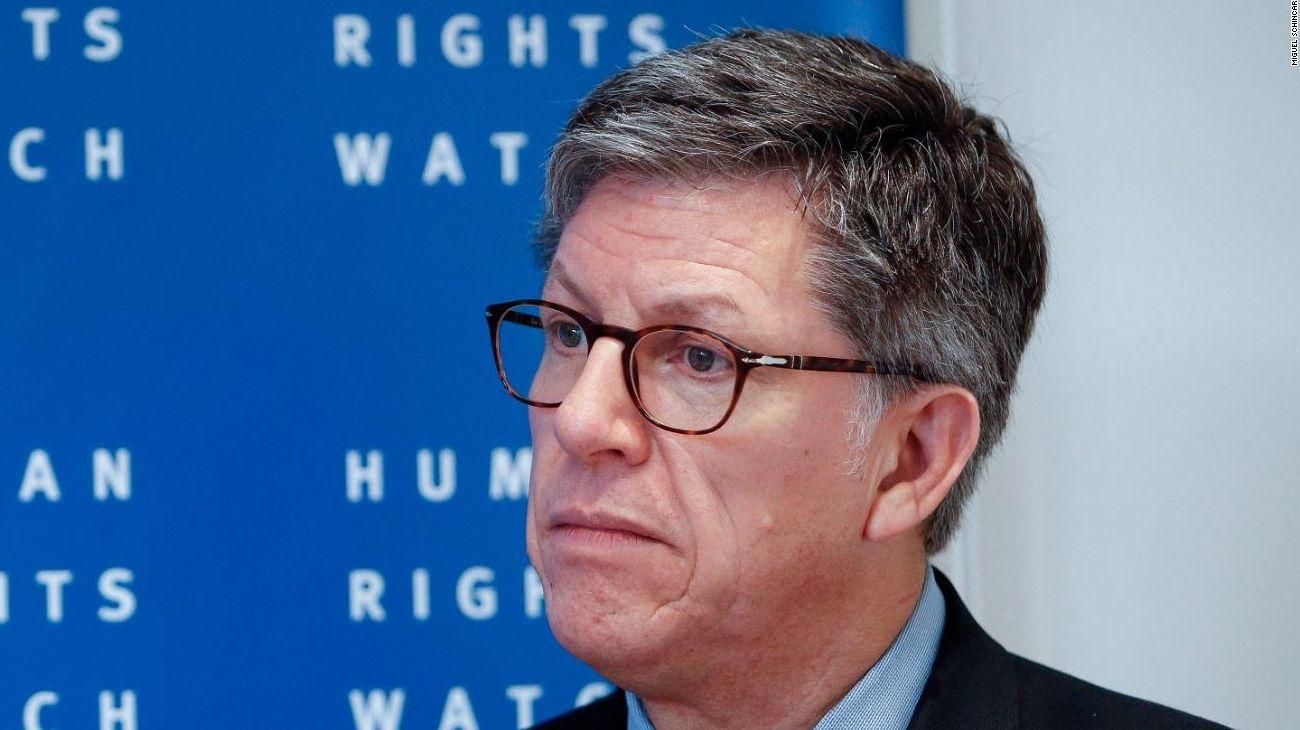El director de la División de las Américas en HRW, José Vivanco.