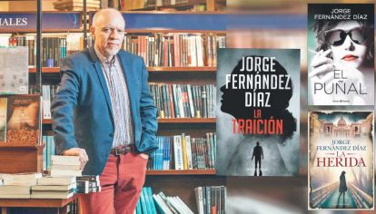 Fernández Díaz. Nacido en 1960, mezcla en sus libros periodismo y literatura, investigación y ficción. La traición es su último libro.