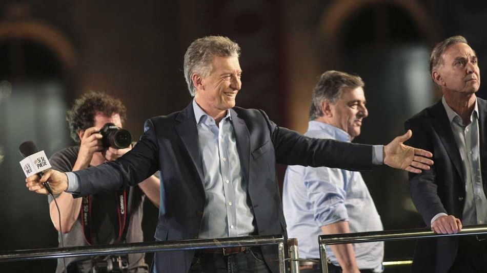 Mauricio Macri, en la campaña 2019. Lanza libro y quiere volver a ganar protagonismo.