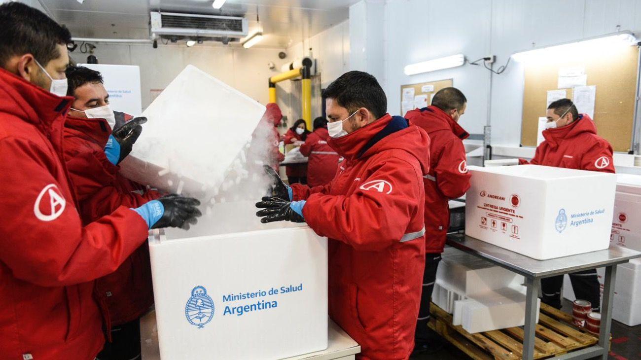 Se distribuirán 375 mil nuevas dosis de la vacuna Sputnik V en todo el país.