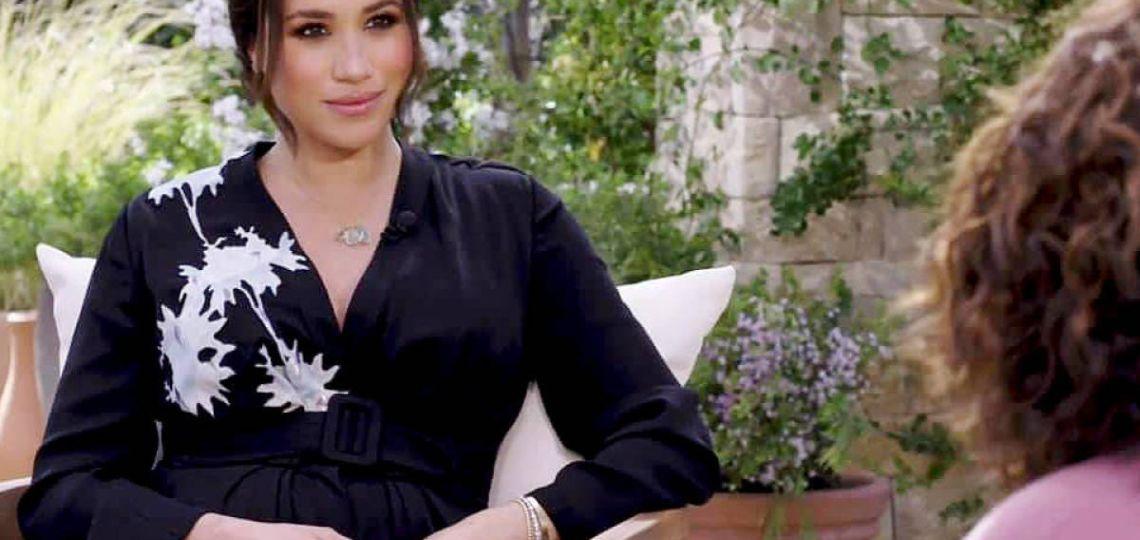Meghan Markle: El vestido de 5.000 dólares para la entrevista de Oprah