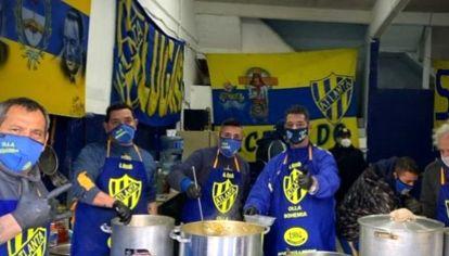 La Olla Bohemia se lleva a cabo todos los sábados a las 13 en el Club Atlético Atlanta de Villa Crespo.