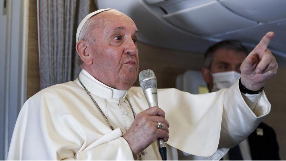 Papa Francisco de Regreso a Roma 20210308