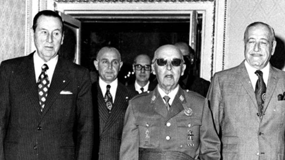 Perón,Cámpora,Francisco Franco 20210308
