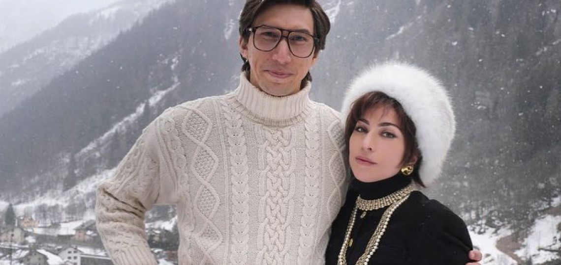 Irreconocibles: primeras imágenes de la biopic de Gucci, con Lady Gaga y Adam Driver
