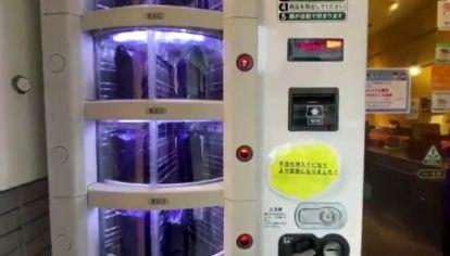 Japón: máquinas expendedoras de test de covid 19