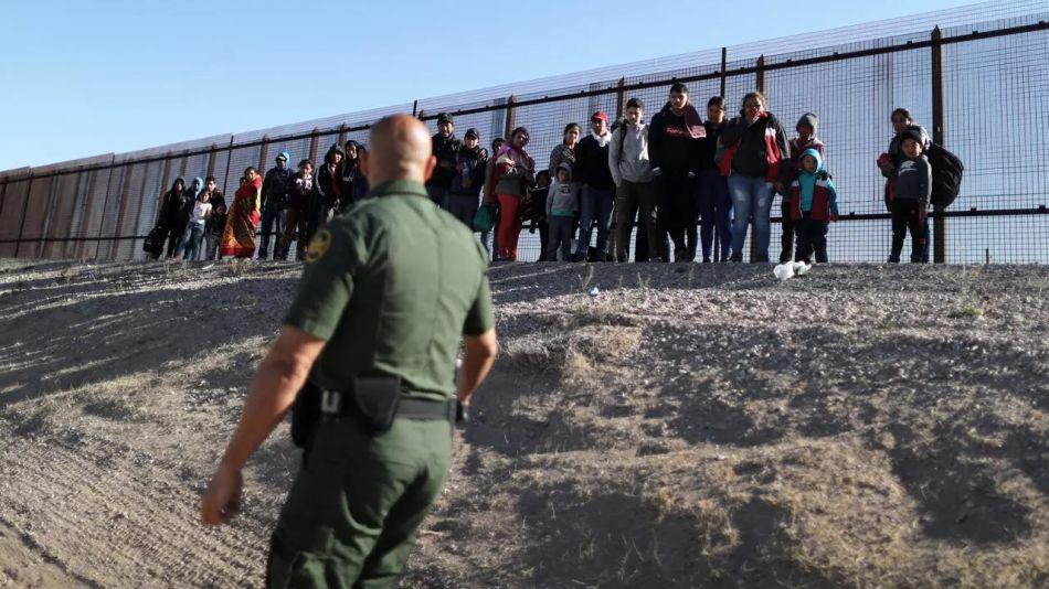 Detenciones en la frontera Estados Unidos México - Guardia fronteriza