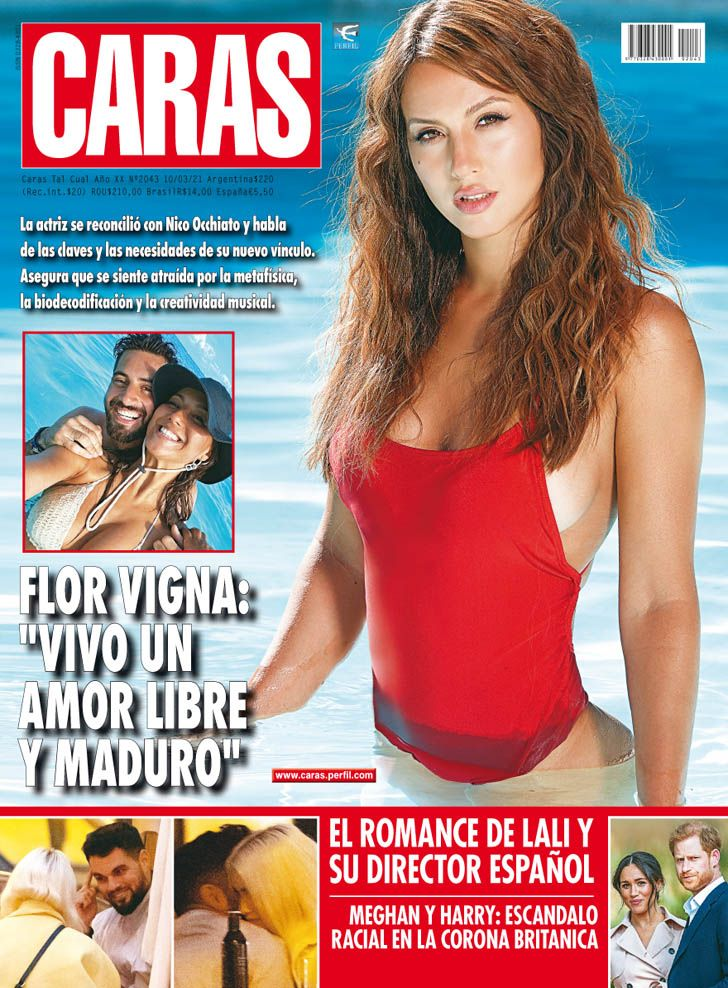 """Flor Vigna enamorada: """"Vivo un amor libre y maduro"""""""