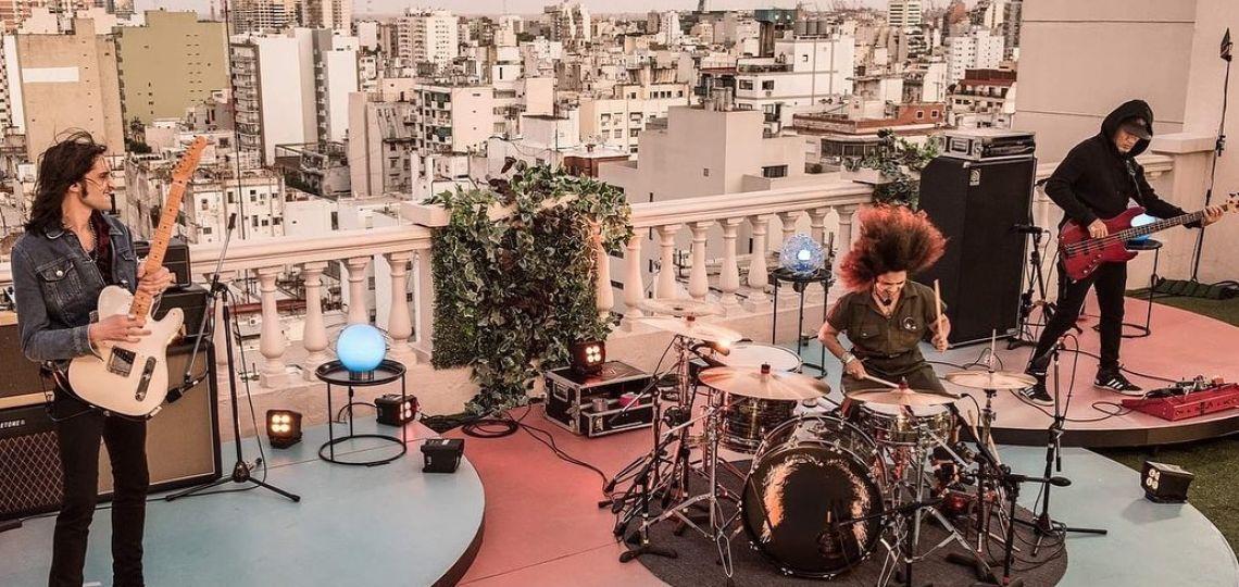 Picnic en el piso 12: arrancó el programa que reúne música, filosofía y atardeceres