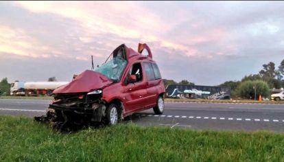 Accidente de tránsito donde sólo sobrevivió un Bebé