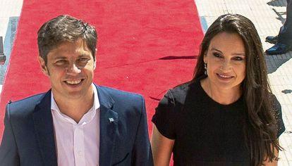 Axel Kicillof y Soledad Quereilhac.