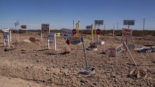 Vaca Muerta Fracking Site