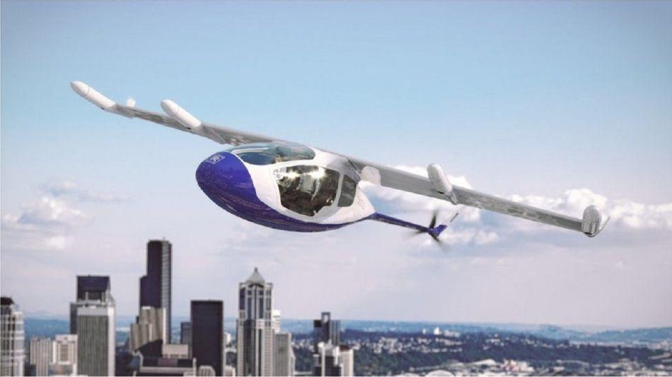 Rolls Royce aporta motor para proyecto de taxi volador