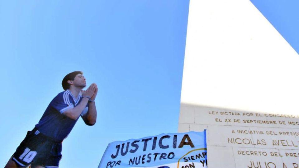marcha Diego Maradona