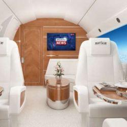 Contará con mesas de conferencias, camas dobles, asientos similares a los de la primera clase y cocinas con revestimientos de madera.