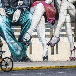 Buenos Aires desde la bicicleta, una propuesta que acaba de incorporar nuevos barrios a sus circuitos.