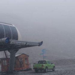 Es la primera precipitación de nieve en lo que va del año sobre la zona.