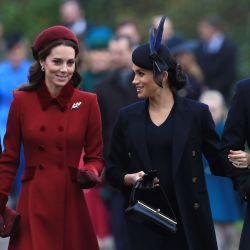 """Otros tiempos en los que reinaba la paz entre los """"fab four de la realeza"""": William, Kate, Meghan y Harry."""