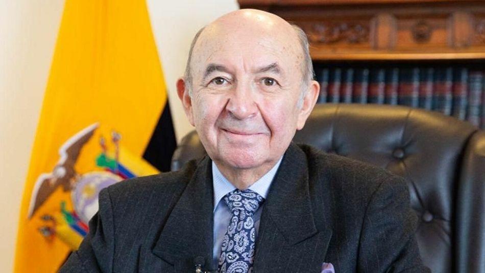 Canciller Ecuador Renuncia