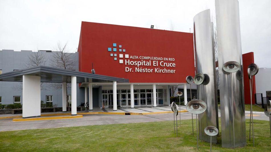 hospital El Cruce de Florencio Varela 20210311