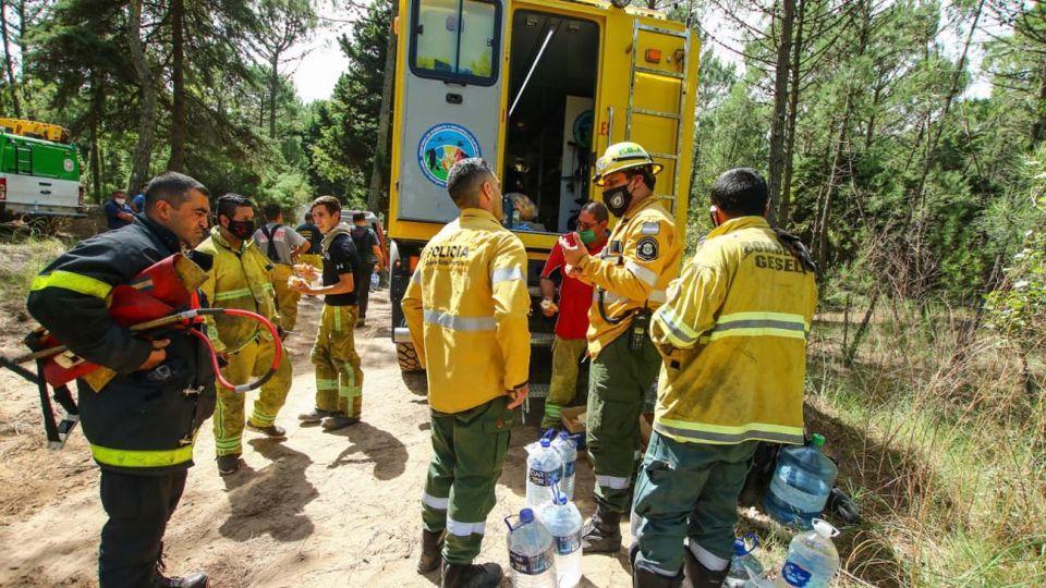 Incendio forestal en la Reserva Natural de Cariló-20210311