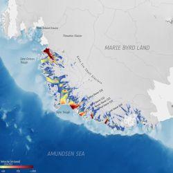 Los glaciares estudiados perdieron 315 gigatoneladas de hielo.
