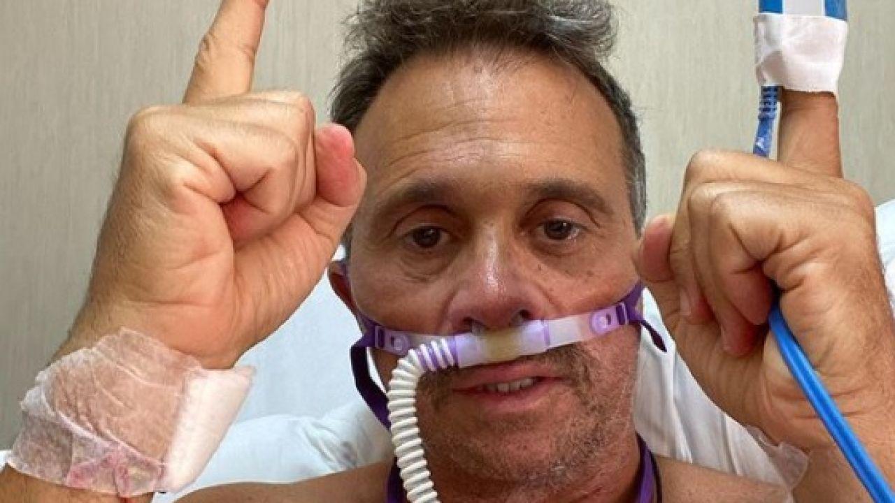 Sergio Lapegüe pasó dos semanas internado en terapia intensiva   Foto:CEDOC