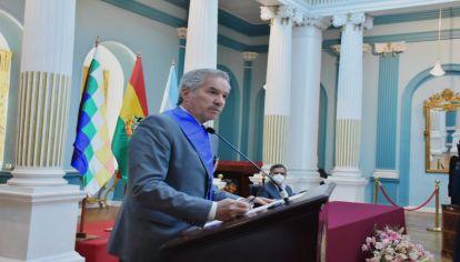 Solá visitó La Paz para relanzar oficialmente los vínculos Estado-Estado luego del paréntesis diplomático tras el golpe de 2019.