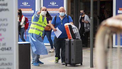 Ezeiza. El aeropuerto internacional seguirá abierto y funcionando como única puerta aérea segura.