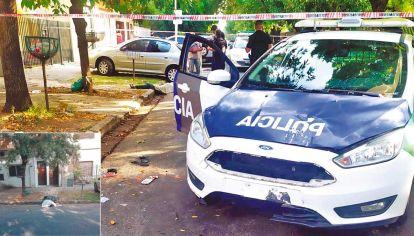 Conmoción. Luis Ranzini se suicidó delante de sus hijos, en las calles Arana entre Aconcagua y Canarias, justo frente a la Escuela N° 126 de La Matanza.