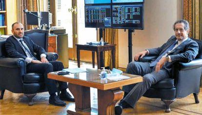 Plan. Guzmán y Pesce apuestan por mantener la brecha bajo control para que no suban los precios.