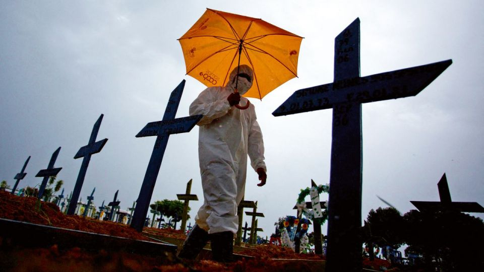El drama del coronavirus en Brasil