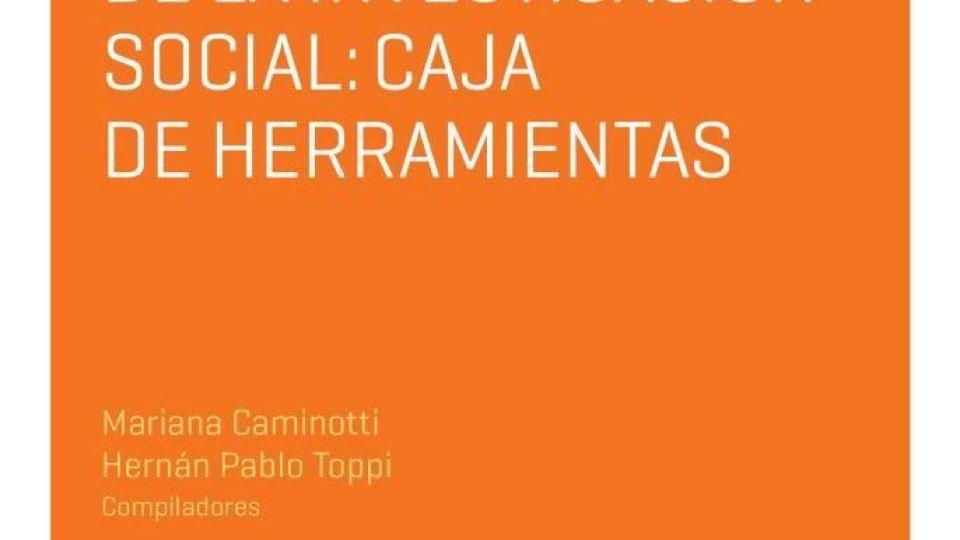 """Libro """"Metodología de la investigación social: caja de herramientas"""""""