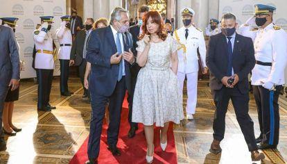 Postura. AF recibió críticas de los sectores más identificados con Cristina.