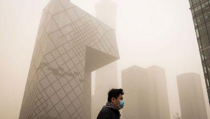 Beijing Sees Orange as Sandstorm Brings Worst Air Since 2017