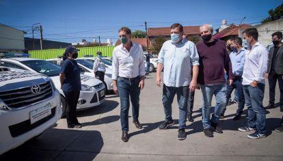 Diego Santilli entrega patrulleros en General Pueyrredón