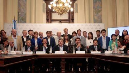 Legisladores de la Cámara Baja, pertenecientes al bloque del PRO.