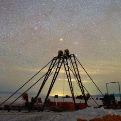 Fue diseñado para observar neutrinos, las partículas más pequeñas hasta ahora conocidas