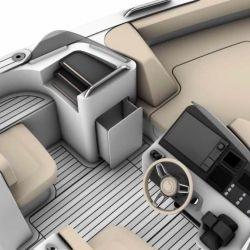 Iguana Yachts ofrece opciones de propulsión diésel, gasolina o eléctrica.