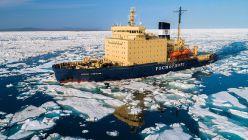 Rusia - Derretimiento del hielo Ártico - Rompehielos ruso - Efecto Invernadero - Cambio Climático