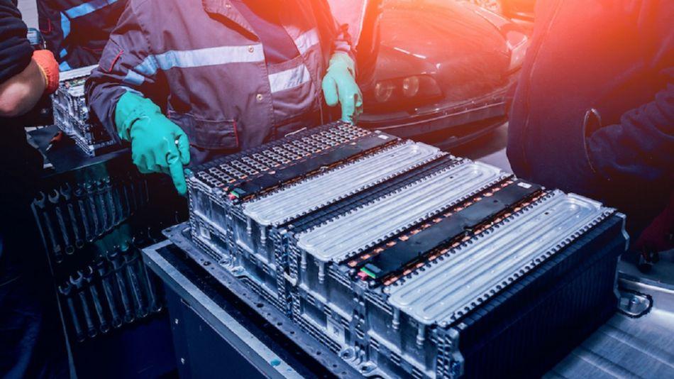 Batería de auto eléctrico - Cobalto - Litio