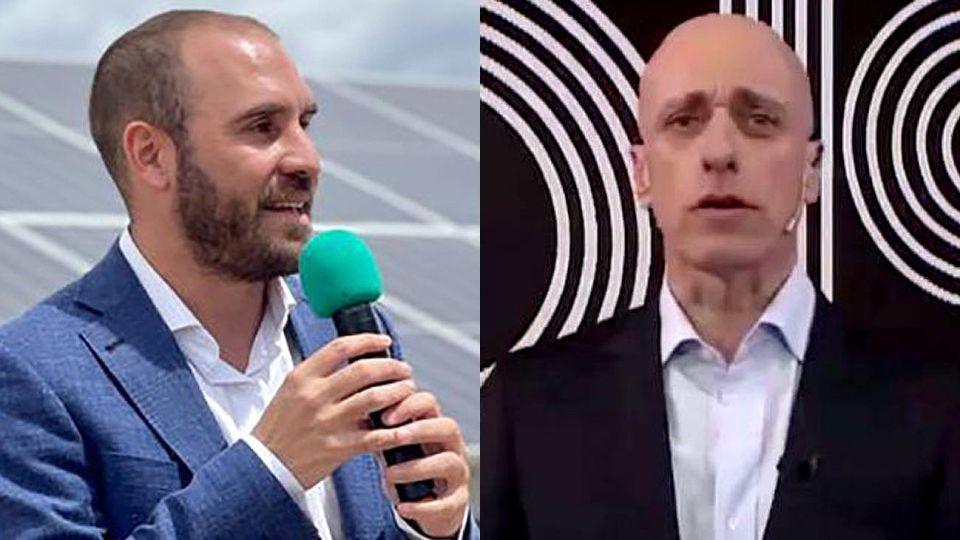 Martín Guzmán y Carlos Pagni 20210316