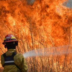 Los focos de incendio fueron detectados en las localidades de San Vicente y 25 de Mayo, en el norte provincial.
