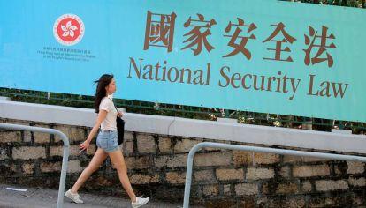 Hong Kong. La mano dura de Beijing provoca tensión con Washington.
