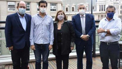 Ernesto Sanz y Gerardo Morales se metieron en la interna de la UCR bonaerense.