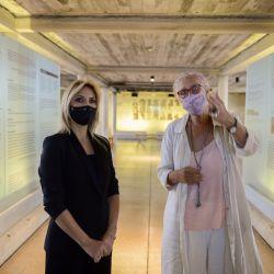 La primera dama visitó el ex centro clandestino de detención, tortura y exterminio  | Foto:Presidencia