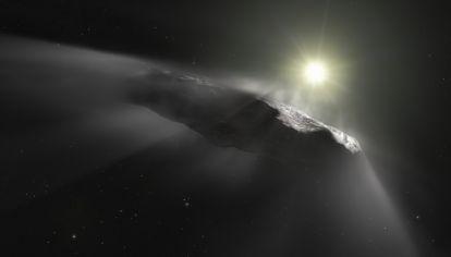 Oumuamua, el objeto espacial no indentificado que ingresó a nuestro sistema solar en 2017